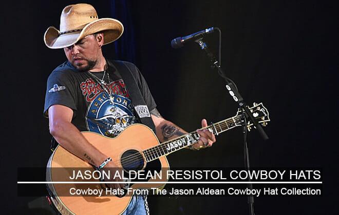 Jason Aldean Resistol Cowboy Hat
