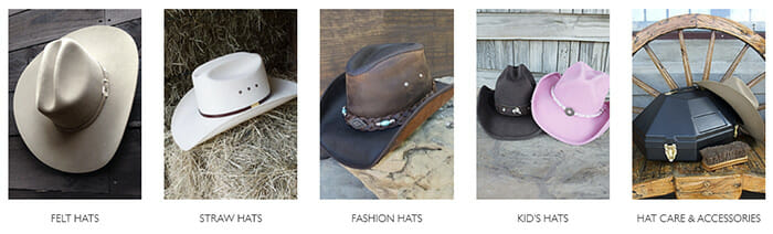 Pinto Ranch Stetson Hats