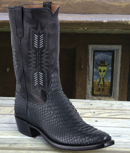 My Black Cowboy Boots - Rios of Mercedes