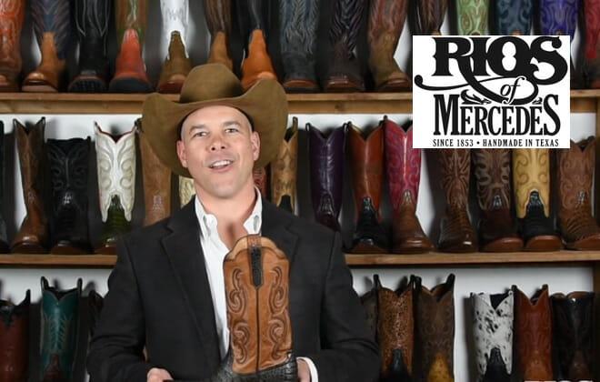 Rios of Mercedes Handmade Cowboy Boots