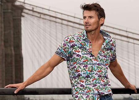 Robert Graham Short Sleeve Shirt