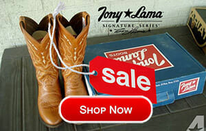 Show Now for some great Tony Lama Cowboy Boots