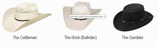 How A Cowboy Hat should fit - Cowboy Hat Types