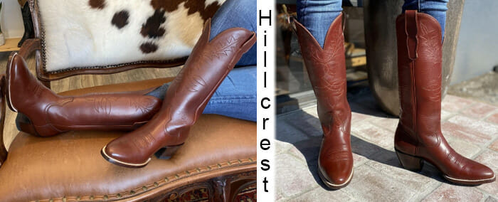 City Boots - The Hillcrest Cowgirl Boot