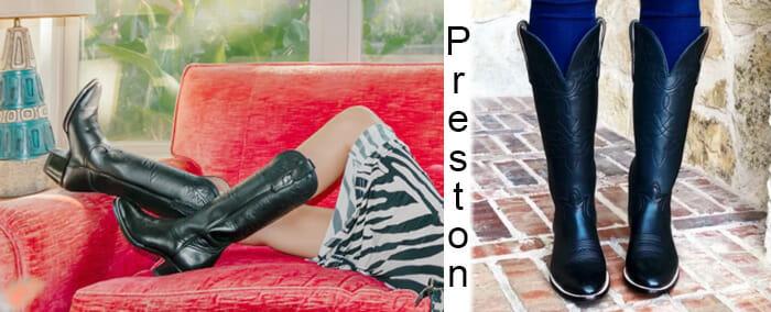 City Boots - The Preston Cowgirl Boot
