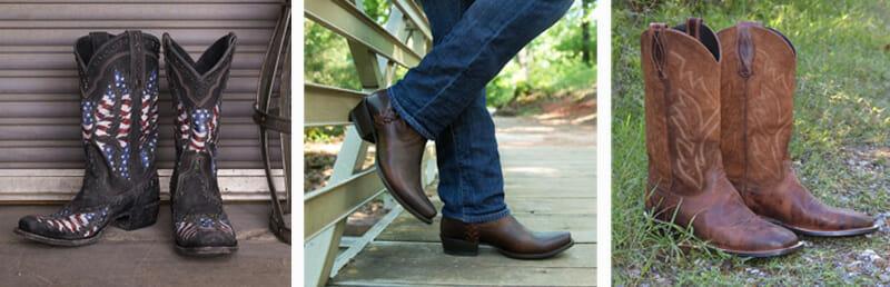 Lane Cowboy Boots for Men