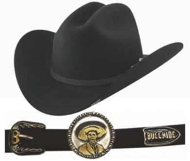 Cheap Bullhide Emiliano Fur Cowboy Hat
