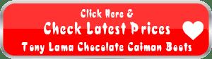 Tony Lama Signature Series Men's Chocolate Caiman Belly Boots