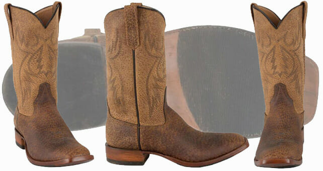 Rios of Mercedes Mens Texas Feral Hog Boots