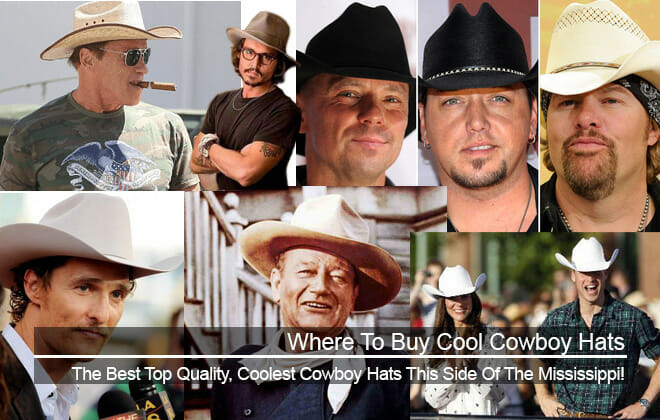 Where to buy cool cowboy hats