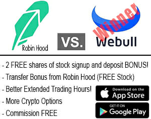 Download WeBull today and get FREE stocks!