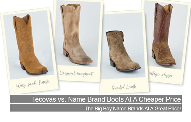 Tecovas vs Name Brand boots at a cheaper price Featured